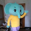 Supply Enterprises Elephant Mascot Costume Cartoon Doll Clothing Can Stage Performances Props Walking Doll