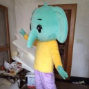 Enterprises Elephant Mascot Costume Cartoon Doll Clothing Can Stage Performances Props Walking Doll