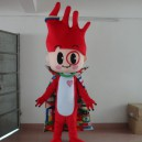 Flag Professional Mascot Cartoon Costumes Cartoon Dolls Ambassadors Yet Mascot Costume