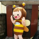 Bee Cartoon Doll Clothing Promotional Stage Show Props To Dress Dolls Doll Bee Insect Drawings Mascot Costume