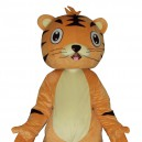 Supply Wang Doll Cartoon Clothing Cartoon Tiger Walking Doll Hedging Tiger King Mascot Costume