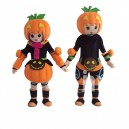 Supply Cartoon Doll Cartoon Clothing Cute Pumpkin Men and Women Walking Doll Hedging Pumpkin Men and Women Mascot Costume