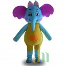 Cartoon Doll Doll Cartoon Elephant Walking Doll Clothing Sets Head Like Dolls Mascot Costume