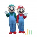 Supply Cartoon Games Mario Bros Doll Cartoon Walking Doll Clothing Hedging Mario Mascot Costume