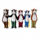 Supply Cartoon Doll Cartoon Clothing Colored Horse Walking Doll Hedging Colored Horse Mascot Costume