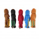 Cartoon Doll Cartoon Clothing Colored Horse Walking Doll Hedging Colored Horse Mascot Costume
