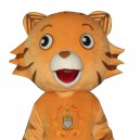 Supply Cincinnati Tiger Doll Cartoon Clothing Cartoon Walking Doll Hedging Cincinnati Tiger Mascot Costume