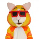 Supply Tiger Eye Cartoon Walking Doll Clothing Doll Cartoon Tiger Eye Hedging Mascot Costume