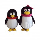 Supply Qq Penguin Cartoon Doll Cartoon Walking Doll Clothing Hedging Lovely Stay Cute Qq Penguin Wind Mascot Costume