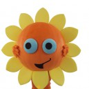 Supply 1 Sunflower Cartoon Doll Cartoon Walking Doll Clothing Doll Hedging Sunflower 1 Mascot Costume