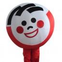 Supply Cartoon Doll Clothing Walking Hedging Mascot Costume Decorative Doll Cartoon Children Gallery Events