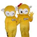 Supply Cartoon Mascot Costume Dolls Walking Hedging Activities Foam Cartoon Doll Clothing Decoration