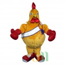 Chicken Boxing Cartoon Doll Cartoon Walking Doll Clothing Hedging Boxing Chicken Mascot Costume