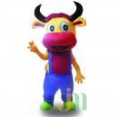 Supply Cartoon Cow-like Doll Cartoon Walking Doll Clothing Cow-like Sleeve Mascot Costume