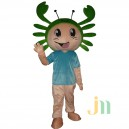 Supply Cartoon Male Crabs Doll Cartoon Walking Doll Clothing Doll Sets Male Crabs Mascot Costume