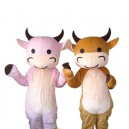 Supply Baby Doll Cartoon Cow Cute Cartoon Walking Doll Clothing Hedging Cute Baby Cow Mascot Costume
