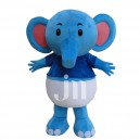 Supply Pampers Baby Elephant Cartoon Cartoon Dolls Clothing Walking Hedging Manufacturers Mascot Costume