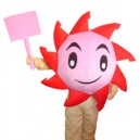 Supply Cartoon Doll Clothing Walking Hedging Decorative Cartoon Mascot Costume Suit Sunflowers Events