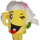 Supply Cartoon Doll Clothing Walking Hedging Mascot Costume Suit Decorative Beer Mug Cartoon Events