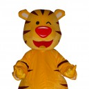 Supply Doll Cartoon Clothing Cartoon Tiger Head Tiger Walking Doll Sets Mascot Costume