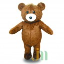 Supply Fixed Cartoon Doll Cartoon Bear Walking Doll Clothing Hedging Fixed Bears Mascot Costume