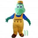 Cartoon Doll Cartoon Crocodile Paint Hedging Walking Doll Clothing Crocodile Paint Mascot Costume