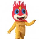 Supply Cartoon Doll Clothing Walking Hedging Fire Baby Doll Mascot Costume Decoration Animation Activities