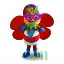 Supply Cartoon Flower Bee Walking Doll Doll Cartoon Clothing Sets Head Flower Bee Mascot Costume