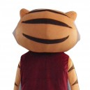 Kung Fu Tiger Doll Cartoon Clothing Cartoon Walking Doll Kung Fu Tiger Hedging Mascot Costume