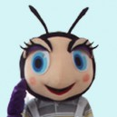 Supply Doll Cartoon Clothing Cartoon Ant Walking Doll Hedging Ants Mascot Costume