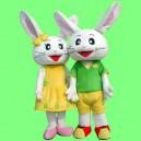 Supply Cartoon Doll Clothing Doll Clothing Cartoon Clothing Happy Cartoon Rabbit Brother and Sister Mascot Costume