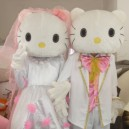 Supply Cartoon Clothing Cartoon Doll Clothing Doll Clothing Performance Clothing Couple Wedding Kt Risk Mascot Costume