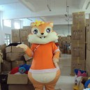 Supply Cartoon Clothing Special Clothing Animal Model Clothing Cartoon Show Clothing Squirrel Mascot Costume