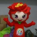 Supply Doll Cartoon Clothing Cartoon Characters Clothing Clothes Cartoon Mascot Costume Peony
