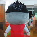Mascot Costume Cartoon Character Clothing Model Clothing Cartoon Advertising Character Stone
