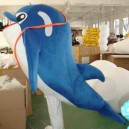 Supply Order A Large Cartoon Clothing Cartoon Doll Clothing Cartoon Show Clothing Model Large Dolphin Mascot Costume