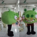 Supply Doll Clothing Cartoon Clothing Cartoon Doll Clothing Cartoon Game Cartoon Green Pig Activity Mascot Costume