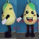 Supply Contributions End Cartoon Clothing Cartoon Doll Clothing Celebration Food Fruit Pear Mascot Costume