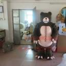 Supply Plush Dolls Cartoon Clothing Cartoon Doll Clothing Cartoon Costumes Animal Mascot Ferocious Bear Mascot Costume