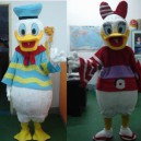 Supply Cartoon Costumes Cartoon Doll Clothing Cartoon Dolls Plush Dolls Walking Clothing Donald Duck Mascot Costume
