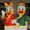Supply Donald Duck Costume Cartoon Clothes Cartoon Clothing Cartoon Show Clothing Cartoon Mascot Dolls Mascot Costume