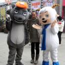Supply Scene Cartoon Cartoon Doll Cartoon Clothing Cartoon Clothes Dress Pleasant and Wolf Mascot Costume