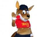 Welcome To Elect People Wear Cartoon Clothing Cartoon Cartoon Doll Clothing Doll Clothing Kangaroo Mascot Costume