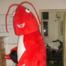 Supply Cartoon Costumes Cartoon Doll Clothing Cartoon Mascot Costume Clothing Red Shrimp