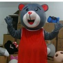 Supply Cartoon Cartoon Costumes Stage Performance Clothing Clothes Rocket Bear Mascot Costume