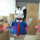 Supply Cartoon Doll Clothing Stage Performance Clothing Cartoon Plush Toys Cartoon Costumes Horse Promotion Mascot Costume