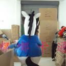 Cartoon Doll Clothing Stage Performance Clothing Cartoon Plush Toys Cartoon Costumes Horse Promotion Mascot Costume