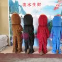 Cartoon Doll Clothing Stage Performance Clothing Cartoon Plush Toys Cartoon Costumes Ma Promotions Mascot Costume