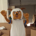 Supply Walking Cartoon Doll Clothing Cartoon Clothing Cartoon Dolls Clothes Goat in Mascot Costume