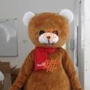 Walking Cartoon Doll Clothing Cartoon Show Clothing Cartoon Children Cartoon Clothing Curious Bear Mascot Costume